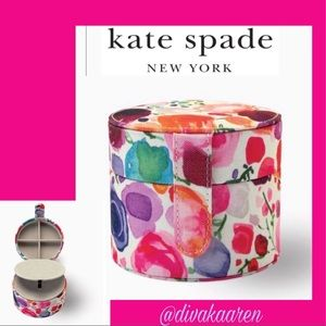 Kate Spade Floral Travel Jewelry Box / Case